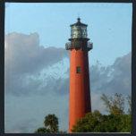 """Jupiter Inlet Lighthouse Cloth Napkin<br><div class=""""desc"""">Lighthouse at Jupiter Inlet in Florida.</div>"""