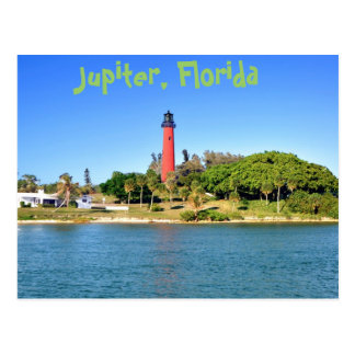 Jupiter Inlet Lighthouse in Jupiter, Florida Postcard
