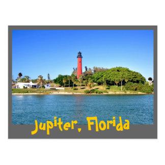 Jupiter Inlet Lighthouse in Jupiter, Florida Postcard