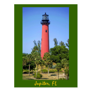 Jupiter Inlet Lighthouse, Jupiter, Florida Postcard
