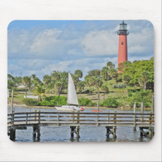 Jupiter Inlet Lighthouse Mouse Pad