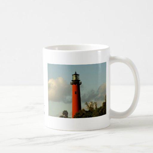 Jupiter Inlet Lighthouse Coffee Mugs