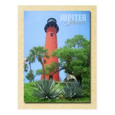 Jupiter Inlet Lighthouse & Museum, Florida Postcard at Zazzle
