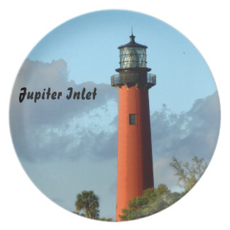 Jupiter Inlet Lighthouse Party Plates