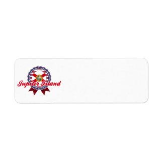 Jupiter Island, FL Return Address Label