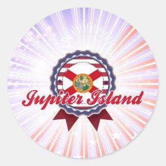 Jupiter Island, FL Classic Round Sticker