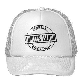 Jupiter Island Title Trucker Hat