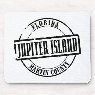 Jupiter Island Title Mouse Pad