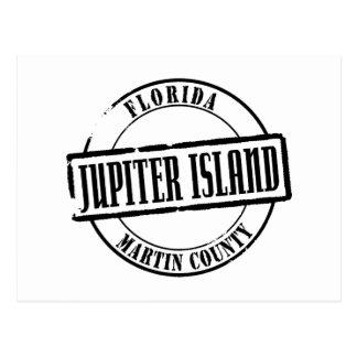 Jupiter Island Title Postcard
