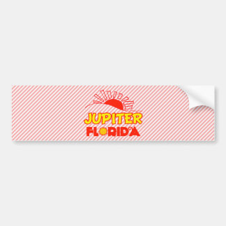 Júpiter, la Florida Pegatina De Parachoque