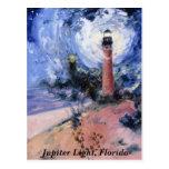 Jupiter Light, Fl Postcard