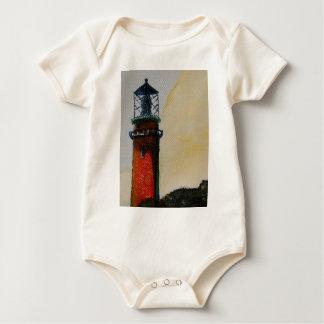 Jupiter Lighthouse Baby Bodysuit