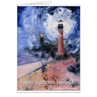 Jupiter lighthouse card