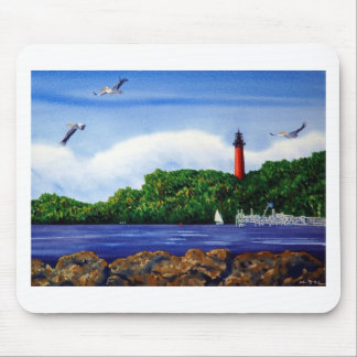 Jupiter Lighthouse III Mouse Pad