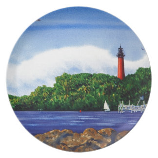 Jupiter Lighthouse III Party Plates