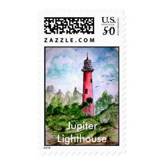 jupiter_lighthouse, Jupiter Lighthouse Postage