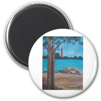 Jupiter Lighthouse Magnet