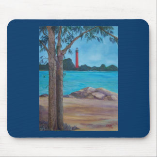 Jupiter Lighthouse Mouse Pad