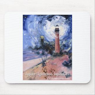 Jupiter lighthouse mouse pad