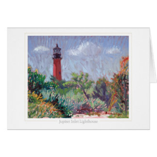 Jupiter Lighthouse note card