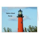 Jupiter Lighthouse Notecard Card