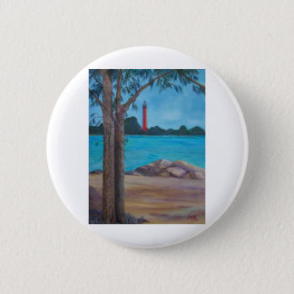 Jupiter Lighthouse Pinback Button