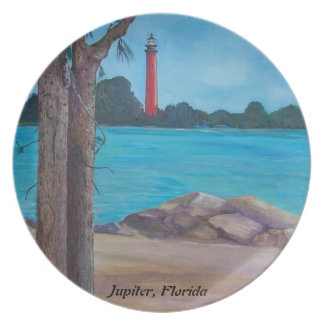 Jupiter Lighthouse Plate