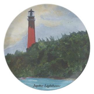 Jupiter Lighthouse Party Plates