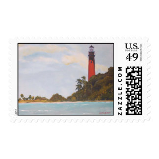 Jupiter Lighthouse Stamp
