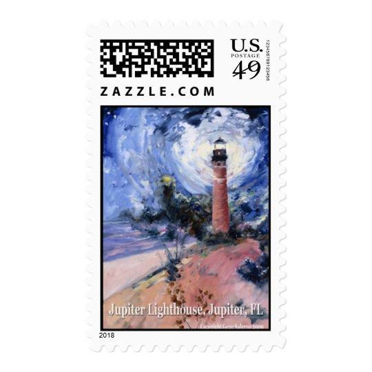Jupiter lighthouse postage