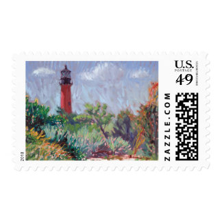 Jupiter Lighthouse postage stamp
