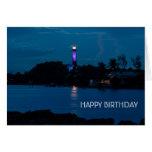 JUPITER LIGHTHOUSE SHINES BLUE CARD