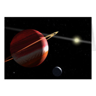 Jupiter-mass planet orbiting the nearby star Epsil Cards