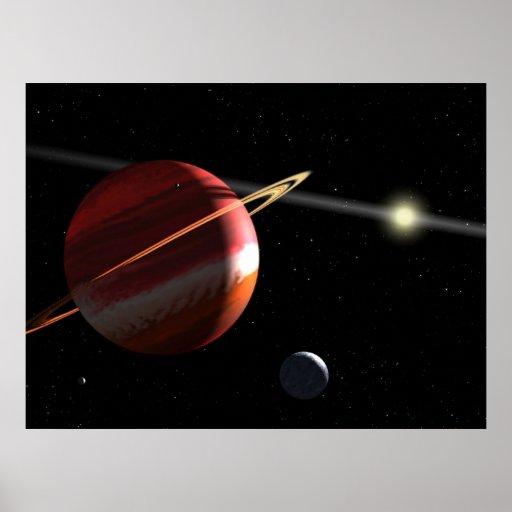 Jupiter-mass planet orbiting the nearby star Epsil Print
