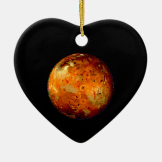 Jupiter Moon Io Space NASA Ceramic Ornament
