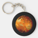 Jupiter Moon Io Space NASA Key Chain