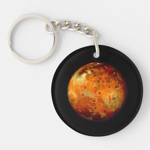Jupiter Moon Io Space NASA Keychains