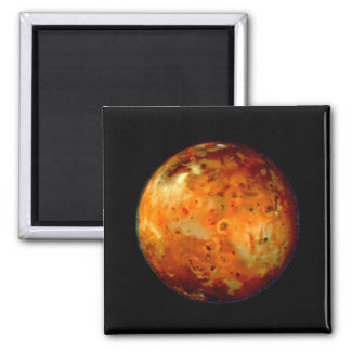 Jupiter Moon Io Space NASA Fridge Magnets
