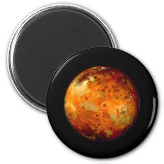 Jupiter Moon Io Space NASA Refrigerator Magnet