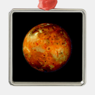 Jupiter Moon Io Space NASA Metal Ornament