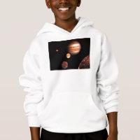 Jupiter Moons Kids Toddler & Infant Clothes Hoodie