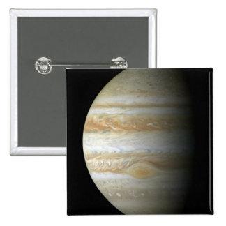 Jupiter mosiac 2 inch square button