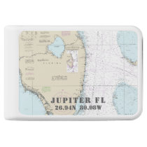 Jupiter Nautical Latitude Longitude Power Bank