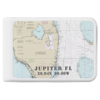 Jupiter Nautical Latitude Longitude Power Bank