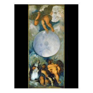 Jupiter Neptune and Pluto by Caravaggio in 1597 Postcard