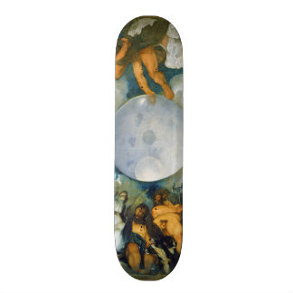 Jupiter Neptune and Pluto by Caravaggio in 1597 Skateboard Deck
