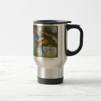 Jupiter Neptune and Pluto by Caravaggio in 1597 Travel Mug