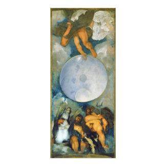 Júpiter Neptuno y Plutón por Caravaggio en 1597 Cojinete