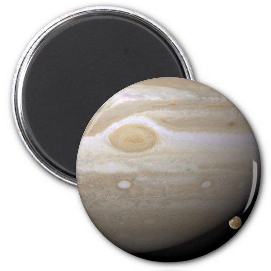 Jupiter occults Ganymede Magnet