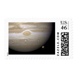 Jupiter occults Ganymede Postage Stamps